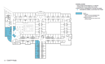 Floorplan of Nazareth Living Center, Assisted Living, Nursing Home, Independent Living, CCRC, St. Louis, MO 7