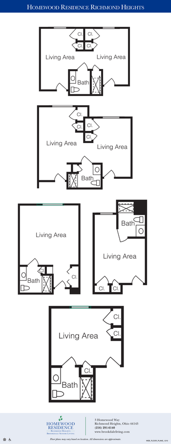 Floorplan of Richmond Heights Place, Assisted Living, Nursing Home, Independent Living, CCRC, Richmond Heights, OH 1
