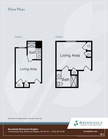 Floorplan of Richmond Heights Place, Assisted Living, Nursing Home, Independent Living, CCRC, Richmond Heights, OH 2