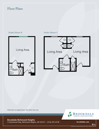 Floorplan of Richmond Heights Place, Assisted Living, Nursing Home, Independent Living, CCRC, Richmond Heights, OH 3
