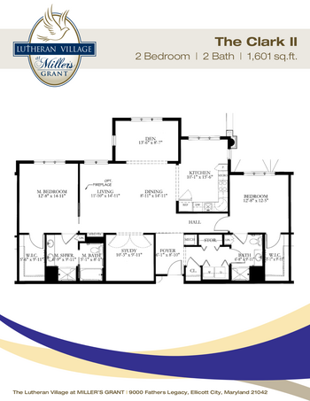 Floorplan of Miller's Grant, Assisted Living, Nursing Home, Independent Living, CCRC, Ellicott City, MD 2