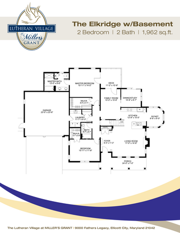 Floorplan of Miller's Grant, Assisted Living, Nursing Home, Independent Living, CCRC, Ellicott City, MD 6