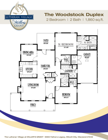 Floorplan of Miller's Grant, Assisted Living, Nursing Home, Independent Living, CCRC, Ellicott City, MD 12