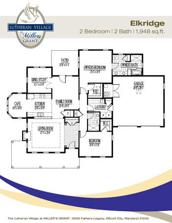 Floorplan of Miller's Grant, Assisted Living, Nursing Home, Independent Living, CCRC, Ellicott City, MD 14