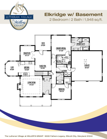 Floorplan of Miller's Grant, Assisted Living, Nursing Home, Independent Living, CCRC, Ellicott City, MD 15