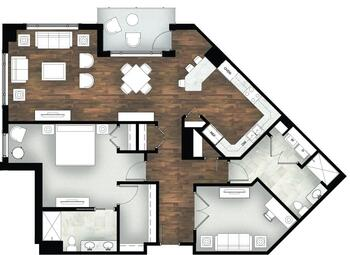 Floorplan of Legacy at Mills River, Assisted Living, Nursing Home, Independent Living, CCRC, Mills River, NC 3