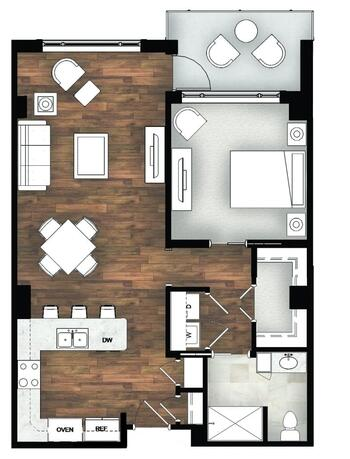 Floorplan of Legacy at Mills River, Assisted Living, Nursing Home, Independent Living, CCRC, Mills River, NC 4