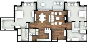 Floorplan of Legacy at Mills River, Assisted Living, Nursing Home, Independent Living, CCRC, Mills River, NC 5