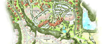 Campus Map of Legacy at Mills River, Assisted Living, Nursing Home, Independent Living, CCRC, Mills River, NC 1