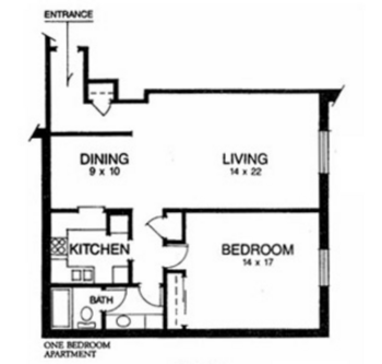Floorplan of Ridgecrest, Assisted Living, Nursing Home, Independent Living, CCRC, Waco, TX 1