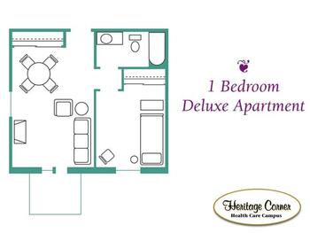 Floorplan of Heritage Corner, Assisted Living, Nursing Home, Independent Living, CCRC, Bowling Green, OH 2