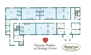 Campus Map of Heritage Corner, Assisted Living, Nursing Home, Independent Living, CCRC, Bowling Green, OH 2