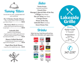 Dining menu of John Knox Village, Assisted Living, Nursing Home, Independent Living, CCRC, Lees Summit, MO 5