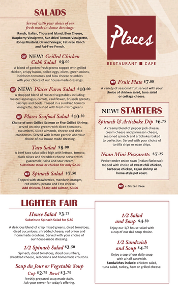 Dining menu of John Knox Village, Assisted Living, Nursing Home, Independent Living, CCRC, Lees Summit, MO 12