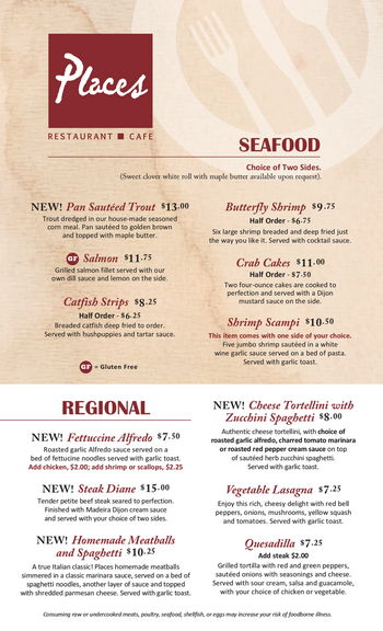 Dining menu of John Knox Village, Assisted Living, Nursing Home, Independent Living, CCRC, Lees Summit, MO 13