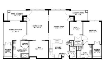 Floorplan of John Knox Village, Assisted Living, Nursing Home, Independent Living, CCRC, Lees Summit, MO 10