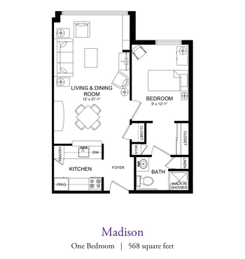 Floorplan of Our Lady Of Peace, Assisted Living, Nursing Home, Independent Living, CCRC, Charlottesville, VA 15