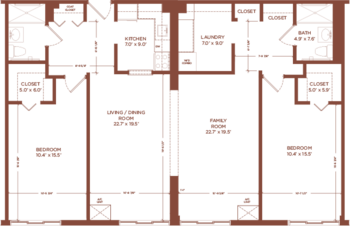 Floorplan of Hunt Community, Assisted Living, Nursing Home, Independent Living, CCRC, Nashua, NH 4